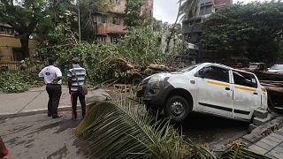 heavy rainfall in Mumbai India, Tuesday, May 18, 2021