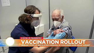 Vaccination campaign in Germany