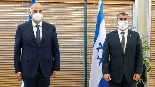 Συνάντηση Νίκου Δένδια με τον ΥΠΕΞ του Ισραήλ, Γκ. Ασκενάζι