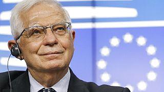 The EU's foreign affairs chief Josep Borrell