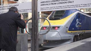 La operadora de trenes Eurostar recibe un rescate de 290 millones de euros de cuatro accionistas