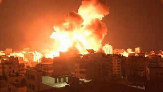 Εκρήξεις στη Γάζα
