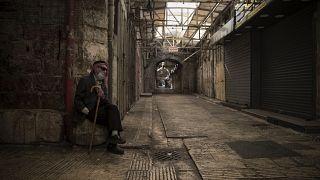 Закрытые арабские лавки в Израиле