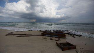 The International Organisation for Migration say the boat had set off from Zwara, Libya.