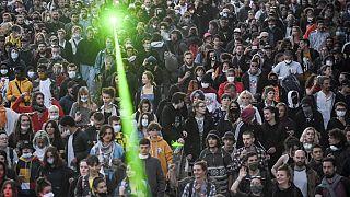 صورة من الارشيف- مهرجان الموسيقى- فرنسا