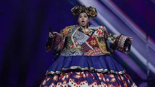 Манижа в полуфинале Евровидения, 18 мая 2021 года