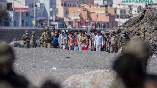 L'Espagne débordée par l'arrivée de migrants à Ceuta