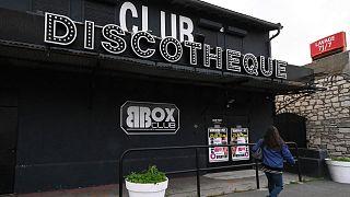 Archives : une discothèque fermée, le 24 novembre 2020, à Sète dans le sud de la France.