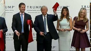 Donald Trump bei einer Veranstaltung seines Unternehmens