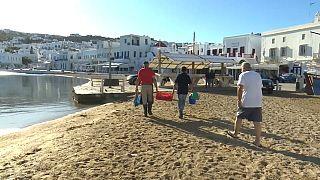 Pescatori a Mykonos
