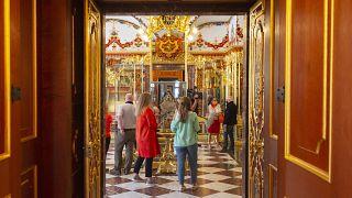 A Residenzschloss kincstára (illusztráció)