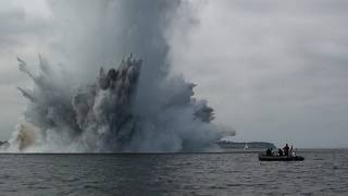Armamento no fundo do mar Báltico liberta produtos perigosos