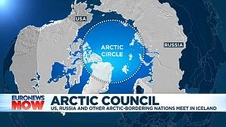Arctic Circle and surrounding nations