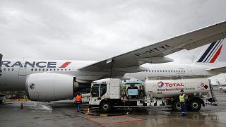 Aviação vira-se para o óleo alimentar