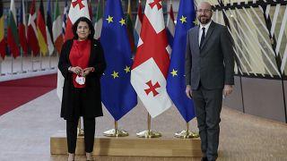 Tbilisi-Bruxelles: una dichiarazione su Euronews per raccontare l'accordo che ha salvato la Georgia