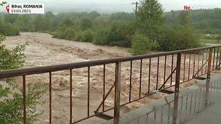 Inondation en Roumanie