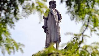 Статуя Христофора Колумба в Нью-Йорке