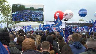 احتجاجات للشرطة في فرنسا