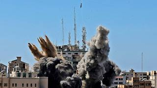 On May 15 Israel bombed a building housing various international media, including The Associated Press in Gaza City.