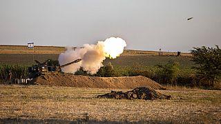 Artilharia israelita dispara contra a Faixa de Gaza