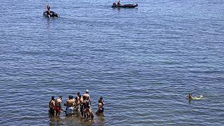 Maroc : la police s'interpose face aux migrants vers Ceuta
