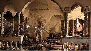 منزل مسکونی یک فرد معلول فلسطینی که به همراه همسر باردار و دختر سه سالهاش در حمله اسرائيل جان باختند