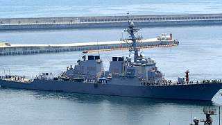 USS Curtis Wilbur in Busan, South Korea