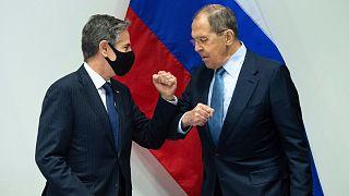 ملاقات وزرای خارجه آمریکا و روسیه در ایسلند