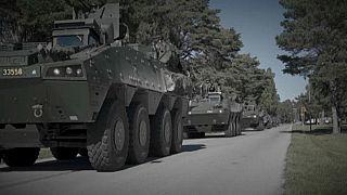 """Manöver """"Wintersonne"""" - Schweden rüstet sich für Streit um Arktis"""