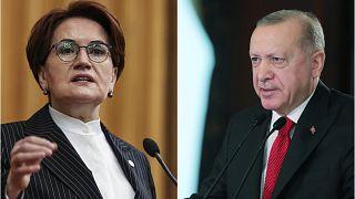 Cumhurbaşkanı Erdoğan, parti grup toplantısında kendisini İsrail Başbakanı Netanyahu'ya benzeten İYİ Parti lideri Meral Akşener'e 250 bin liralık manevi tazminat davası açtı.