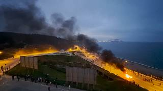 Clashes as Morocco forces block access to Ceuta
