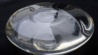 This file photo shows a breast implant produced by the implant manufacturer Poly Implant Prothese (PIP).