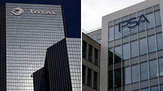 شرکتهای فرانسوی توتال و پژو