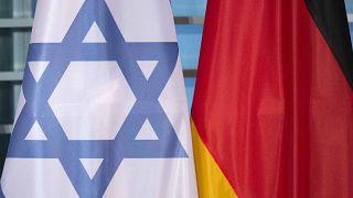 پرچمهای آلمان و اسرائیل