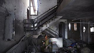 Soldat israélien à Ashkelon (sud d'Israël), le 20/05/2021