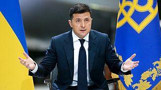 ولودومیر زلنسکی، رئیس جمهوری اوکراین