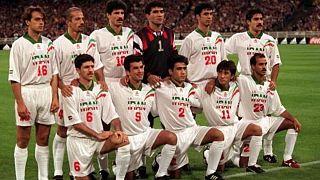 تیم ملی ایران روز بازی ایران و استرالیا در آذر ماه ۱۳۷۶