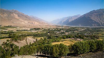 The Wakhan Corridor in Afghanistan