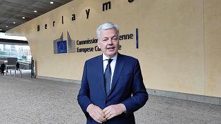 Didier Reynders igazságügyi biztos