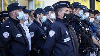 أفراد من الشرطة الفرنسية