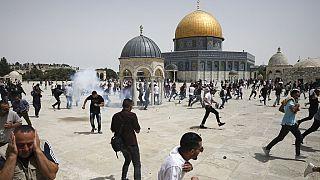 Am 21. Mai 2021 in Jerusalem