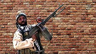 This screengrab from a video released on January 15, 2018 by Islamist militant group Boko Haram shows leader Abubakar Shekau.
