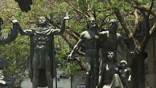 Monumento a la fundación de Tenochtitlán, Ciudad de México