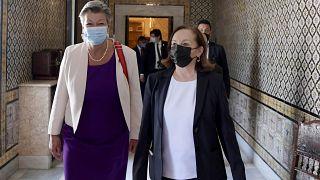 Lamorgese e Johansson in visita a Tunisi