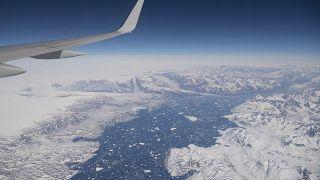 منطقة ثلجية من غرينلاند التي وصلها وزير الخارجية الأمريكية أنتوني بلينكين أمس الخميس. 2020/05/20