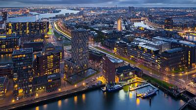 Rotterdam is home to the largest port in Europe