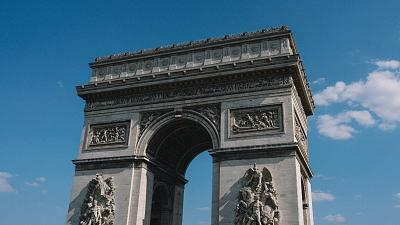 The Arc de Triomphe is one of the most monumental arches in Paris