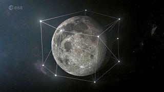 Célba veszi a Holdat az Európai Űrügynökség