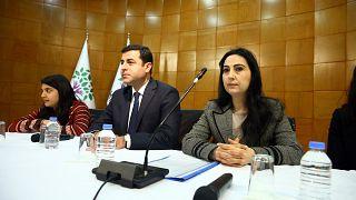 Eski HDP Eş Genel Başkanları Selahattin Demirtaş ve Figen Yüksekdağ