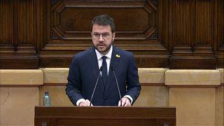 Pere Aragonès, presidente de la Generalitat de Cataluña